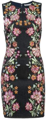 Alice + Olivia Alice+Olivia floral printed pencil dress