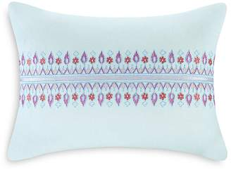 "Echo Sofia Embroidered Decorative Pillow, 12"" x 16"""
