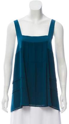 Elizabeth and James Sleeveless Tiered Top