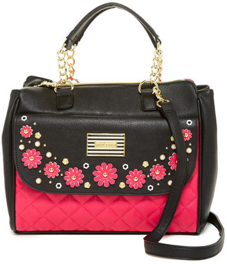 Betsey Johnson In Bloom Satchel $128 thestylecure.com