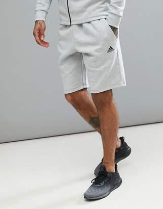 adidas Athletics stadium shorts in grey cg2100