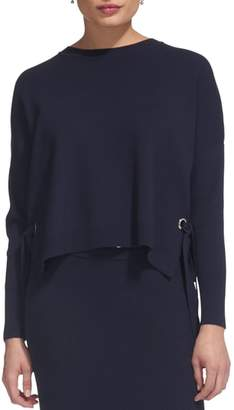 Whistles Tie Side Sweater
