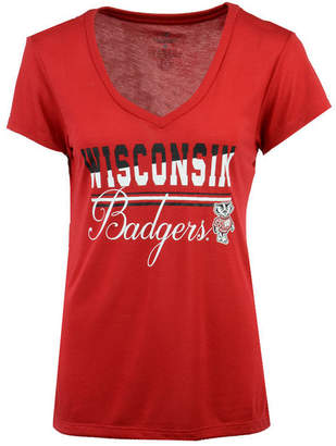 Colosseum Women's Wisconsin Badgers PowerPlay T-Shirt