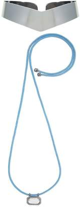 Camila Klein pendant necklace and choker set