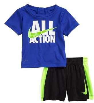 Nike All Action Dry T-Shirt & Shorts Set