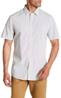14th & Union Printed Short Sleeve Regular Fit Shirt