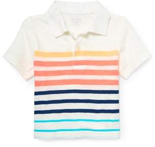 Children's Place The  Toddler Boy Short Sleeve Solid Polo Shirt