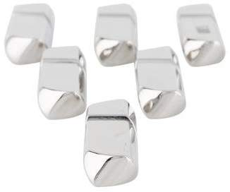 Ercuis Set of 6 Silverplate Equilibre Knife Rests