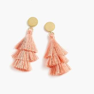 J.Crew Tiered tassel earrings