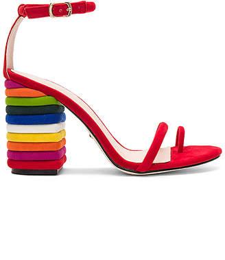 Kepner Sandal in Red. - size 8 (also in 7,7.5,8.5,9.5) Raye