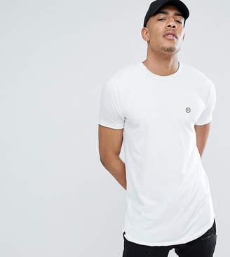 Le Breve TALL Raw Edge Longline T-Shirt