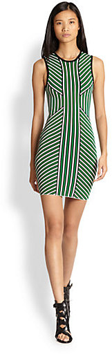 Torn By Ronny Kobo Lana Printed Dress