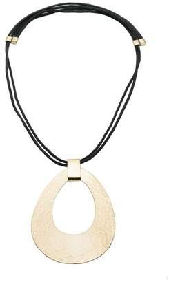 Natori Brushed Brass Necklace
