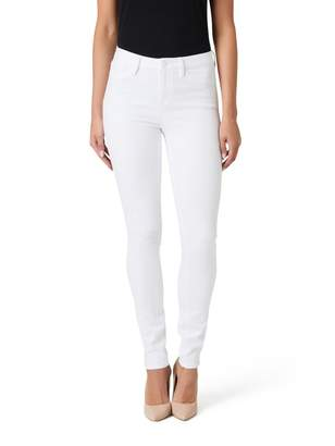 Jeanswest Aurora Mid Waisted Super Skinny Jeans-White-6