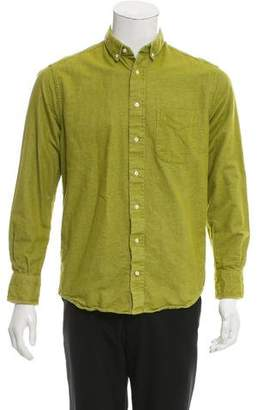 Gitman Brothers Point Collar Button-Up Shirt
