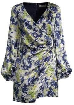 DAY Birger et Mikkelsen AMUR Fran Silk Wrap Dress
