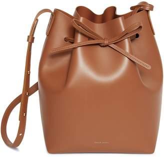 Mansur Gavriel Calf Bucket Bag - Saddle