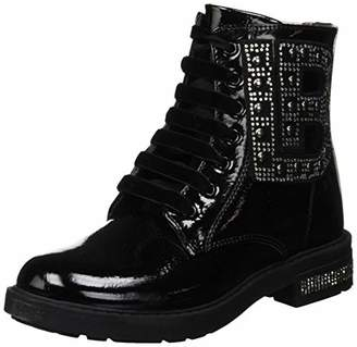 Laura Biagiotti DOLLS Girls' Anfibio Combat Boots (Black 4683)