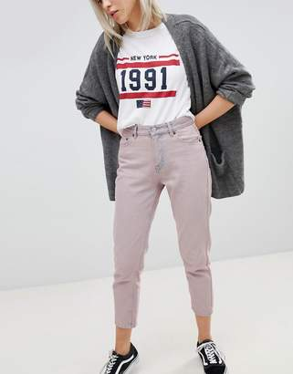 Pull&Bear Cropped Mom Jeans