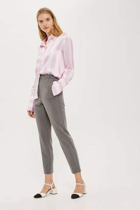 Topshop HIGH WAISTED Cigarette Trousers
