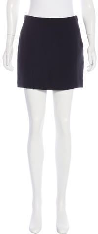 Alexander Wang T by Alexander Wang A-Line Mini Skirt