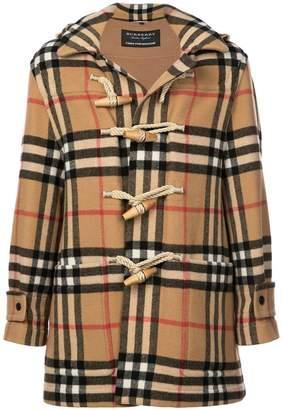 Gosha Rubchinskiy x Burberry classic check duffle coat