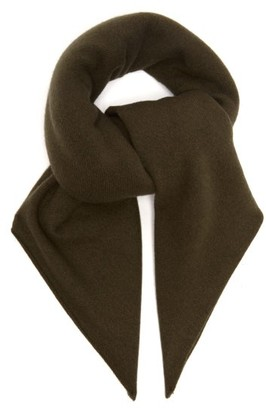 Extreme Cashmere - Square Stretch Cashmere Scarf - Womens - Brown