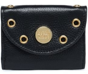 See by Chloe Embellished Textured-leather Coin Purse