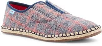 Toms Woven Plaid Palmera Slip-On Sneaker
