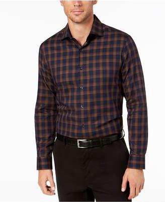 Tasso Elba Bossini Plaid Shirt