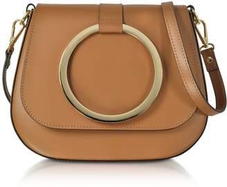 Le Parmentier Caramel Smooth Leather Shoulder Bag