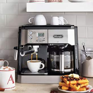 De'Longhi Delonghi DeLonghi Combination Pump Espresso and 10-Cup Drip Coffee Machine with Advanced Cappuccino System
