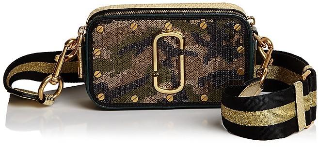Marc JacobsMARC JACOBS Snapshot Sequin Camo Camera Bag