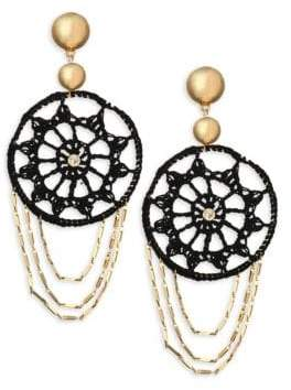 Ettika Disc Gypsy Hoop Earrings