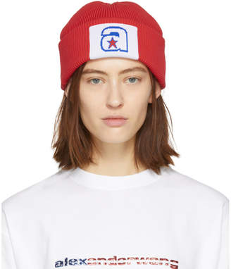 Alexander Wang Red Star Beanie