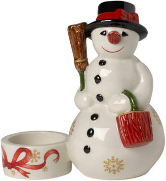 Villeroy & Boch Christmas Light Snowman Figurine Votive