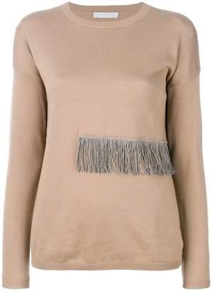 Fabiana Filippi fringe detail blouse