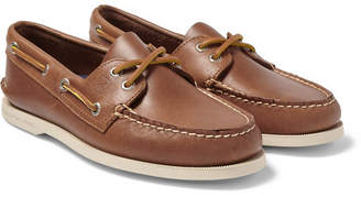 Sperry Authentic Original Leather Boat Shoes - Men - Tan