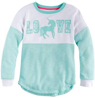 Miss Chievous Girls 7-16 Colorblock Sweater