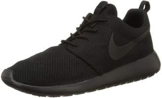 Nike Youths Roshe One Black Silver Mesh Trainers 36.5 EU