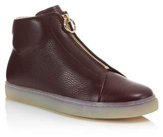 Pairs in Paris Rochechouart High Top Zip Sneakers - 100% Exclusive