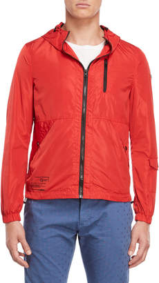 Gaudi' Gaudi Jeans Red Hooded Jacket