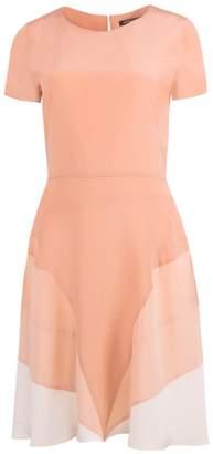 Shopyte - Ginger Orange Silk Dress