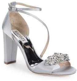 Badgley Mischka Vanda Embellished Sandals