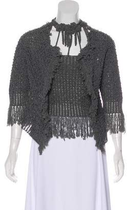 Chanel Fringe-Trimmed Cardigan Set