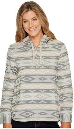 Woolrich First Light Jacquard Hoodie Women's Sweatshirt