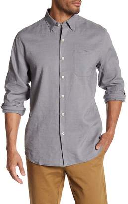 Tommy Bahama Woven Long Sleeve Regular Fit Shirt