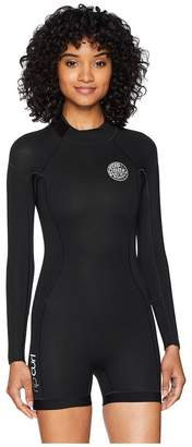 Rip Curl D/Patrol 22 Long Sleeve Spring Suit Women's Wetsuits One Piece