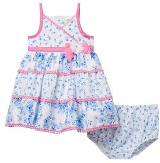 Little Me Blue Floral Sundress Set (Baby Girls)