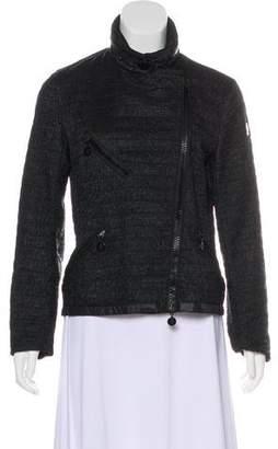 Moncler Smocked Lightweight Jacket